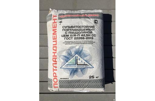 Цемент 25 и 50 кг Новороссийский!!!поставки От завода производителя, фото — «Реклама Севастополя»