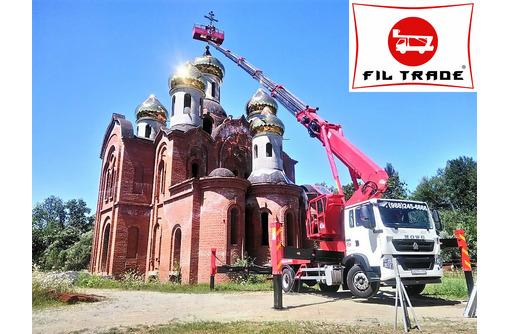 Автовышка 45 метров - аренда автовышки, фото — «Реклама Севастополя»