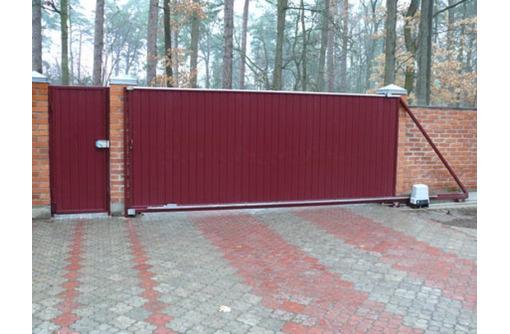 Ворота откатные распашные,навесы,бытовки металлоконструкции от производителя. - Металлические конструкции в Севастополе