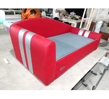 Односпальная кровать для подростка Формула с вышивкой - Мебель для спальни в Симферополе
