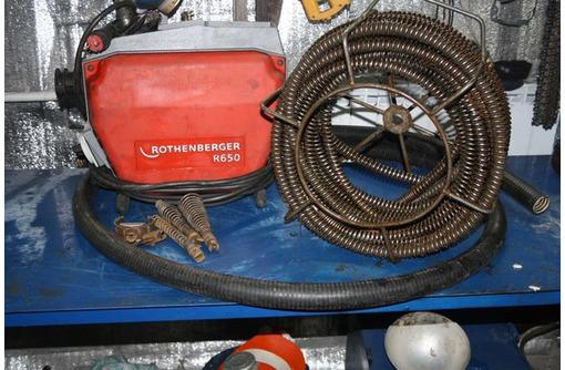 Засоры любой сложности.Электромеханическая прочистка.Гарантия., фото — «Реклама Севастополя»