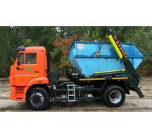 Установка бункеров контейнер для мусора 8м3 - Вывоз мусора в Гурзуфе