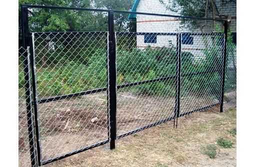 Садовые ворота и калитки распашные. - Заборы, ворота в Саках