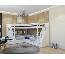Двухъярусная кровать (детская) - Мебель для спальни в Симферополе