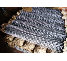 Оцинкованная сетка рабица с бесплатной доставкой. - Металлы, металлопрокат в Черноморском