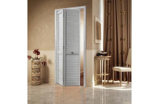 Дверь межкомнатная складная жалюзийная - Межкомнатные двери, перегородки в Алуште