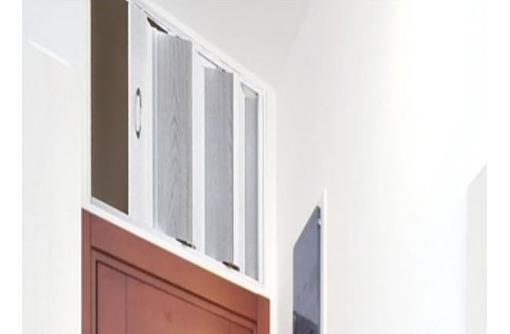 Антресольная дверь-гармошка, складная дверь - Межкомнатные двери, перегородки в Алуште