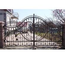 Художественная ковка на заказ - Заборы, ворота в Форосе