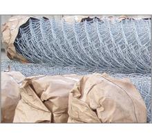 Сетка Рабица оцинкованная в рулонах оптом и в розницу с доставкой - Металлы, металлопрокат в Бахчисарае
