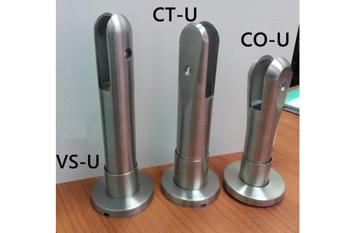 Ножки опоры регулируемые из нержавеющей стали для сантехнических перегородок из ЛДСП и стекла. Склад - Ремонт, отделка в Севастополе