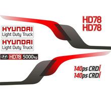 Комплект наклеек на кабину Hyundai (Хендай) HD78 - Для малого коммерческого транспорта в Симферополе