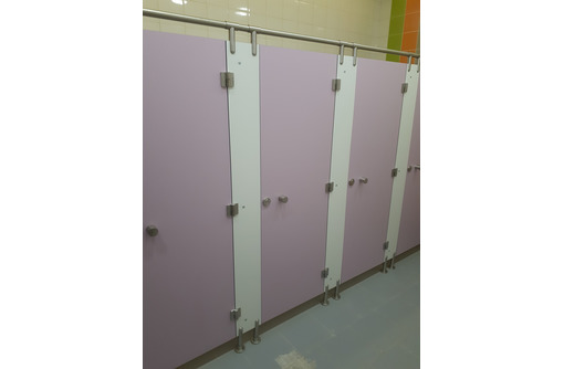 Система сантехнических туалетных модульных антивандальных перегородок HPL, нержавеющая фурнитура - Ремонт, отделка в Севастополе