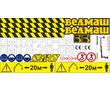 Комплект наклеек для лесного манипулятора Велмаш, фото — «Реклама Севастополя»
