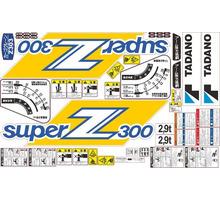 Комплект наклеек для КМУ Tadano Z300 - Для малого коммерческого транспорта в Севастополе