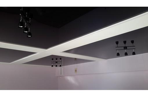 Любая сложность при установке натяжных потолков, фото — «Реклама Бахчисарая»