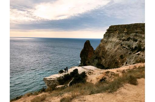 Продаётся земельный участок 100 соток с видом на открытое море, СТ Берег, Тигровый Мыс (Фиолент) - Участки в Севастополе