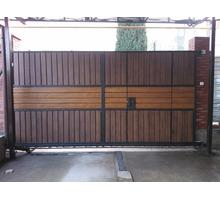 Откатные ворота с автоматикой и без автоматики - Заборы, ворота в Бахчисарае