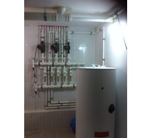 Отопление загородного дома. Использование энергии солнца для приготовления горячей воды ( ГВС). - Газ, отопление в Крыму
