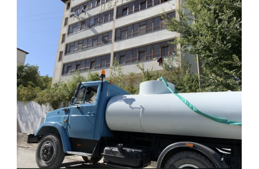 Доставка воды водовозом. Работаем по Севастополю и ЮБК - Грузовые перевозки в Севастополе