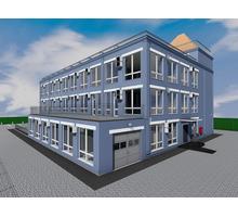 проект четырехэтажного офисного здания с подземным паркингом и 2 лифтами - Услуги по недвижимости в Севастополе