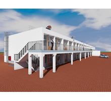 Проект двухэтажной гостиницы галерейного типа - Услуги по недвижимости в Севастополе