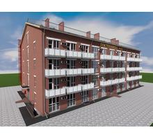 Проект трехэтажной гостиницы на 53 номера - Услуги по недвижимости в Севастополе