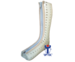 Тутор на голеностопный сустав из термокаста, фото — «Реклама Севастополя»