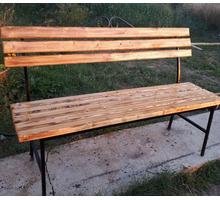 Уличные (садовые) лавки, столы, стулья на заказ - Садовая мебель и декор в Феодосии