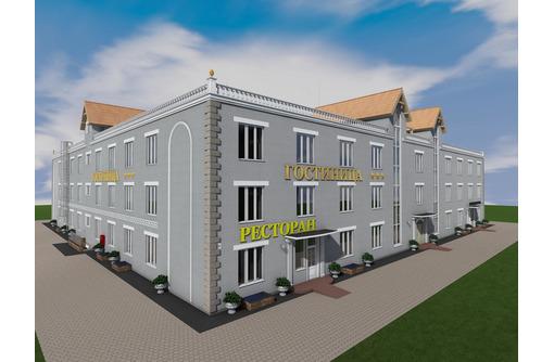 Проект трехэтажной сейсмостойкой гостиницы на 58 номеров, фото — «Реклама Севастополя»