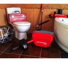 Прочистка канализации электро-механическим методом. Пробивка засора канализационных труб - Сантехника, канализация, водопровод в Ялте