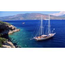 Аренда яхты в Турции порт Мармарис - Активный отдых в Евпатории