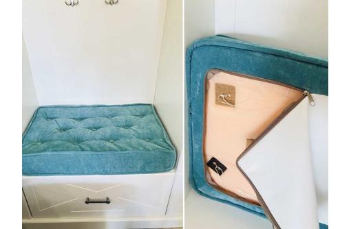 Подушка-сидушка в прихожую с кантом. Мебельная фабрика в Севастополе - Предметы интерьера в Севастополе
