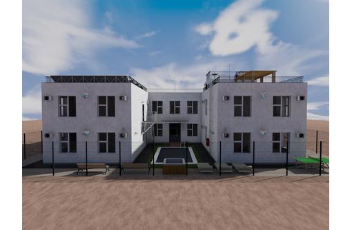 Проект двухэтажной гостиницы П-образной формы (проект гостиницы с внутренним двориком), фото — «Реклама Севастополя»
