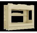 Продаётся двухъярусная кровать АС-25 Ассоль Цвет - ваниль. Акционная цена! - Мебель для спальни в Севастополе