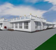 Проект столовой на 360 мест для детского лагеря - Услуги по недвижимости в Севастополе