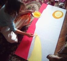 Роспись стен от 800 руб за м. Художественное оформление мебели и предметов интерьера. - Реклама, дизайн, web, seo в Ялте
