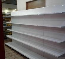 Стеллажи торговые металлические универсальные.2150*950*500мм - Продажа в Черноморском