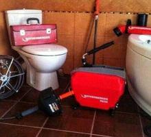 Прочистка канализации. Пробивка и устранение засора канализационных труб от чужеродных предметов - Сантехника, канализация, водопровод в Ялте