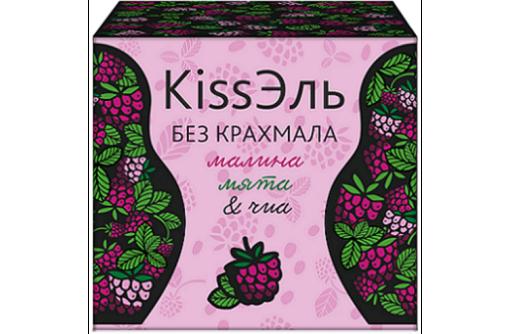 Кисель без крахмала - малина, мята и чиа - 8 порций, фото — «Реклама Севастополя»