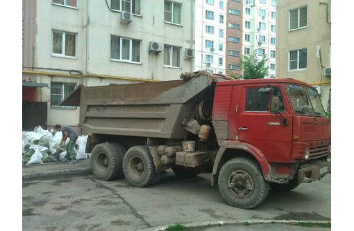 Вывоз строительного мусора, грунта, хлама. Газель, Зил, Камаз <24/7> - Вывоз мусора в Севастополе