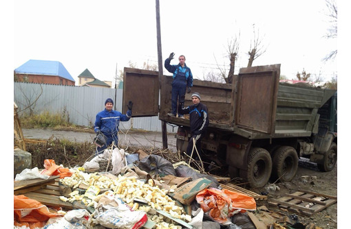 Вывоз строительного мусора, хлама, грунта. Быстро и качественно. <24/7> - Вывоз мусора в Севастополе