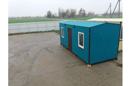 Бытовка вагончик зимний 6*2,4 - Металлические конструкции в Феодосии