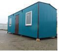 Бытовка вагончик зимний 6*2,4 - Металлические конструкции в Бахчисарае