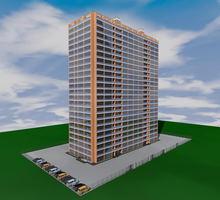 Проект сейсмостойкого двадцатитрехэтажного двухподъездного  дома - Услуги по недвижимости в Севастополе