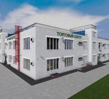 Проект двухэтажного торгового комплекса с лифтам - Услуги по недвижимости в Севастополе
