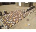 Вибропрессовнная Тротуарная плитка в Крыму от производителя от 420 руб / м2 - Кирпичи, камни, блоки в Судаке