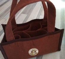 Фетровая сумочка для напитков - Рукоделие в Севастополе