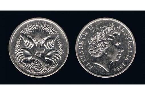 5 центов Австралия, фото — «Реклама Бахчисарая»