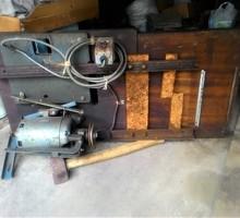 Продам стол для промышленной швейной машинки с электродвигателем. - Ателье, обувные мастерские, мелкий ремонт в Симферополе