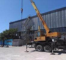 Строительство: ангары, фермы, резервуары, мачты, опоры,металлические каркасы для зданий - Строительные работы в Симферополе